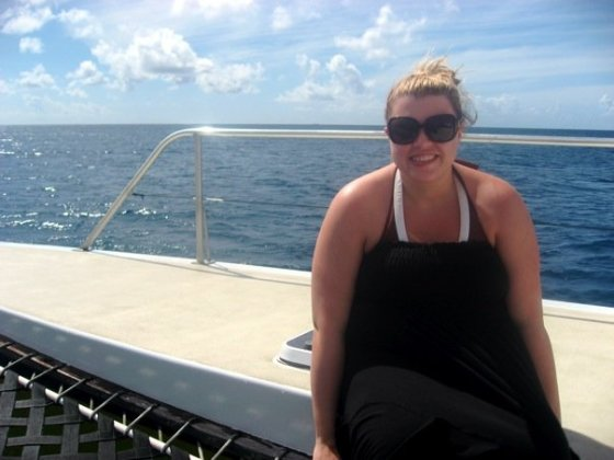 Me on the boat!