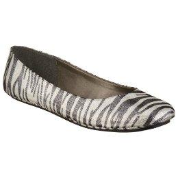 Zebra Print Flats from Target.  $12.99!!