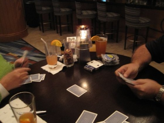 Evening spades.