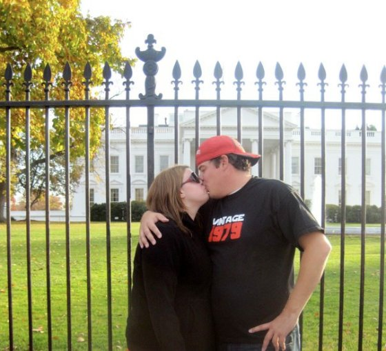 White House Kisses